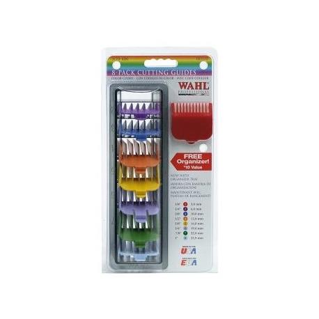 Wahl Set 8 Peines Colores
